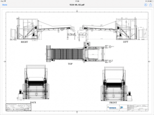 Mechanical fabrication drawings,