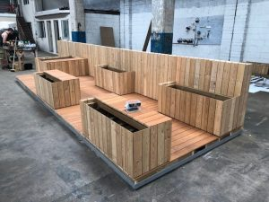 New Parklet installed on Douglas Street