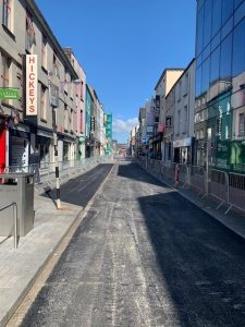 Cork City Centre Pedestrianisation Project in Conjunction with Lagan and Cork City Council